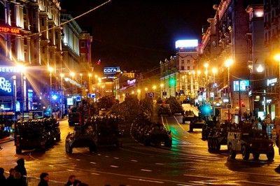Завтра перекроют центр Москвы в связи с репетицией парада Победы