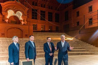 Сергей Собянин объявил о завершении уникальных реставрационных работ в Геликон-опере