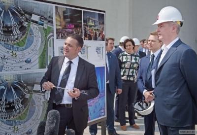 Собянин: Транспортно-пересадочный узел в районе «Москвы-Сити» будет крупнейшим в стране