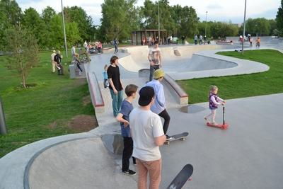 Обновленный парк «Садовники» приглашает всех, кто любит спорт и активный отдых