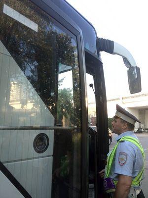 На юге столицы подвели итоги первого дня профилактического мероприятия «Автобус»