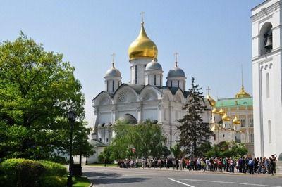 Храм, повторяющий формы Архангельского собора Московского Кремля и Колокольни Ивана Великого, построят в Южном округе