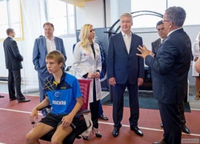 Собянин осмотрел уникальный Центр спортивных инновационных технологий