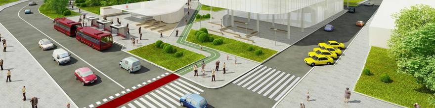 На Волоколамском шоссе планируется построить два транспортно-пересадочных узла