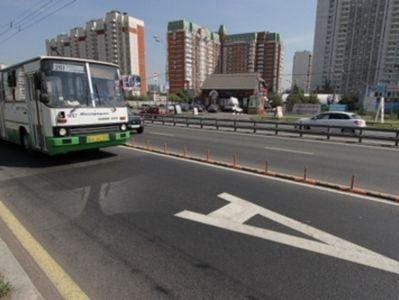 По выделенным полосам курсируют 160 маршрутов городского транспорта Москвы