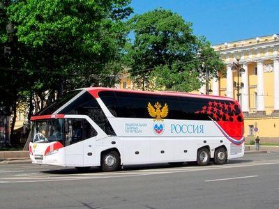Во время проведения ЧМ-2018 футбольные команды по Москве будут передвигаться по выделенным полосам