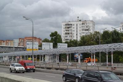 На станции МКЖД «Автозаводская» завершаются работы по возведению платформы