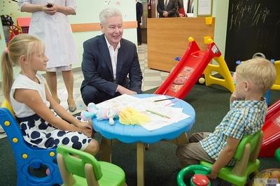 Собянин: В детских поликлиниках внедряется новый стандарт качества обслуживания