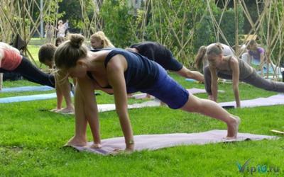 Арт-веранда в парке «Садовники»