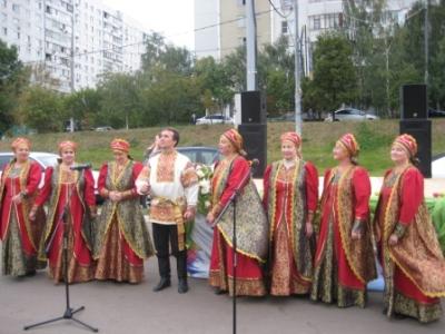 В Братеево отметили народный праздник Яблочный Спас