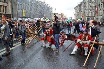 Более миллиона москвичей стали участниками исторической реконструкции «Москва Триумфальная» и концерта на Лубянке