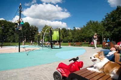 В московских парках прошли зарядки с олимпийскими чемпионами