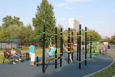 В Москворечье-Сабурово открылся новый парк