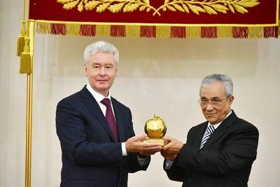Москва получила премию