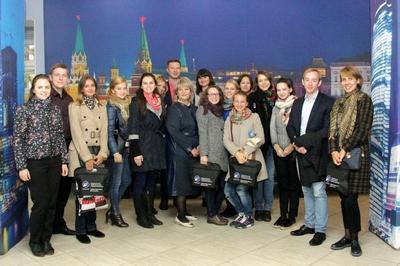 Стажеры Правительства Санкт-Петербурга приехали в Москву для обмена опытом
