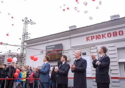 Собянин: Путь из Зеленограда в Москву стал в 2 раза короче