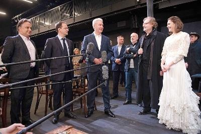 Новый театральный сезон Вахтанговский театр встретит с Новой сценой - Собянин