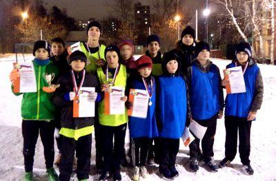 В Западном Бирюлеве прошли футбольные конкурсы для детей
