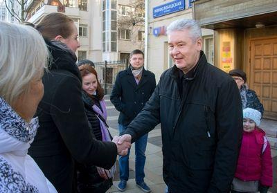 Собянин: Новослободская стала комфортной улицей для пешеходов