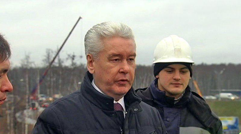 Собянин запустил движение по тоннелю на развязке МКАД с Ленинским проспектом