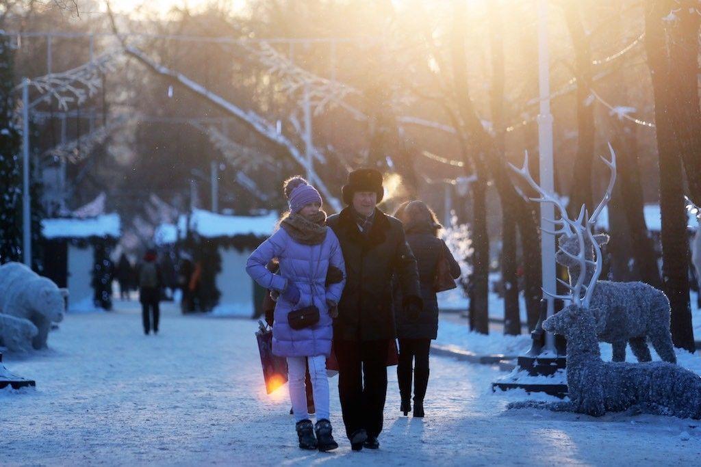 В Новый Год Москву ожидают морозы