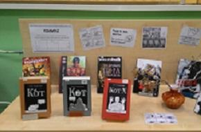 В библиотеке № 137 открылась выставка комиксов