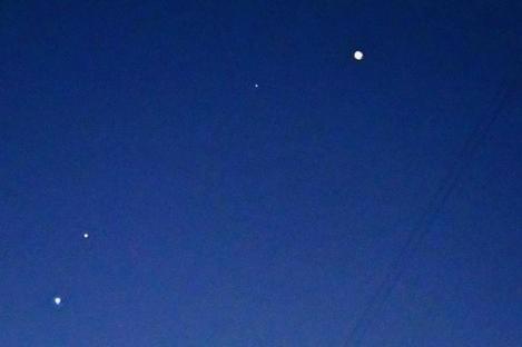 Парад планет можно будет увидеть в течение всей недели