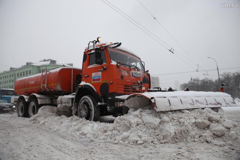 Вечером субботы в столице ожидается новый снегопад