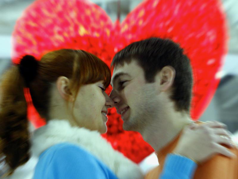 Ко Дню всех влюбленных в Останкино организуют место для влюбленных