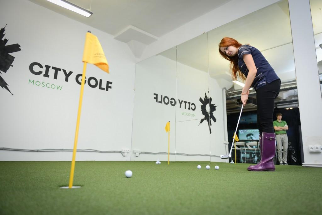 В московских школах откроют секции гольфа