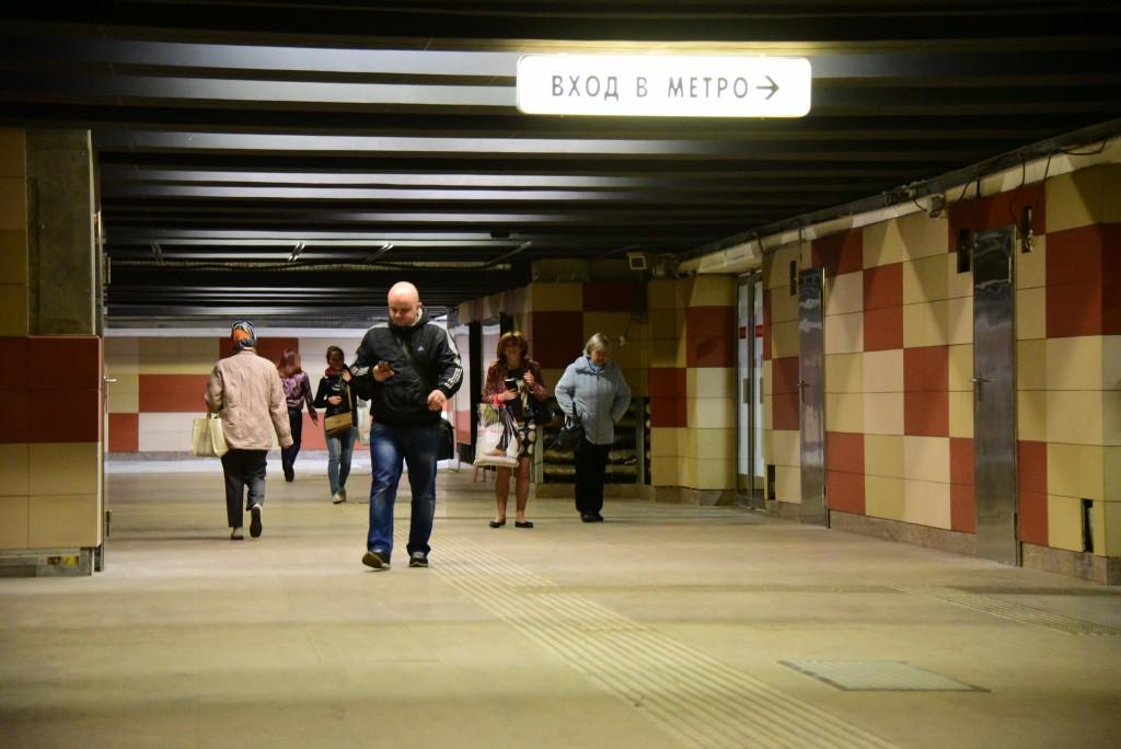 Южный вестибюль станции