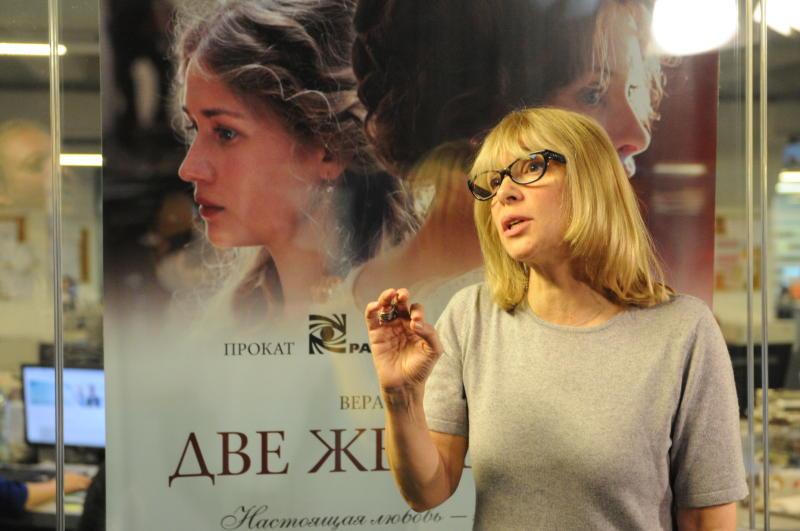 На юге Москвы прошла встреча с Верой Глаголевой