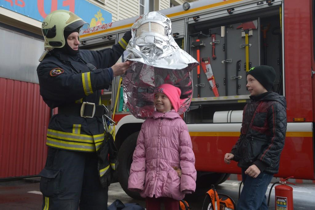 1 марта в пожарных частях пройдет День открытых дверей