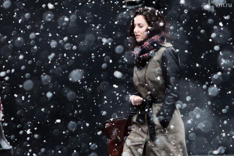 Снег завершится в Москве утром