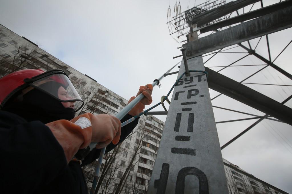 Около Востряковского проезда заменят линии электропередачи