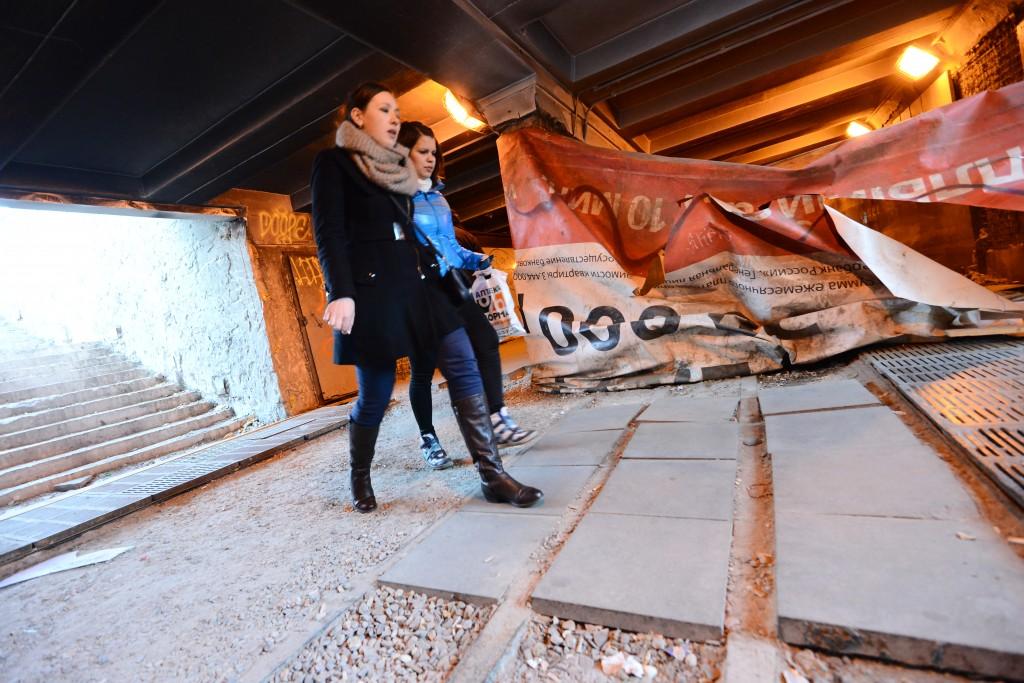 Две уличные лестницы отремонтируют в Чертанове Северном