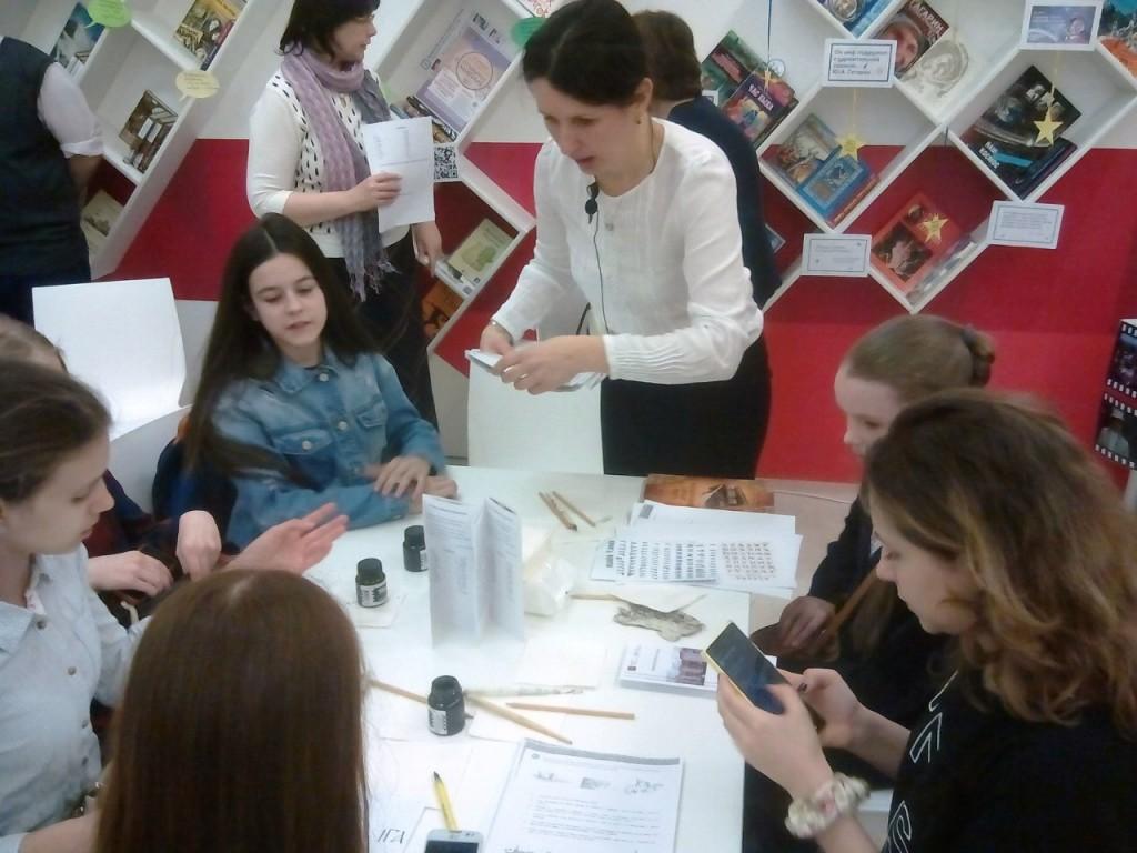 Библиотека № 145 презентовала образовательные проекты на Московском культурном форуме