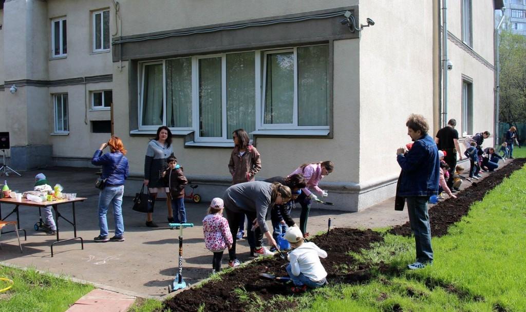 В Бирюлево Западное прошел экологический флешмоб