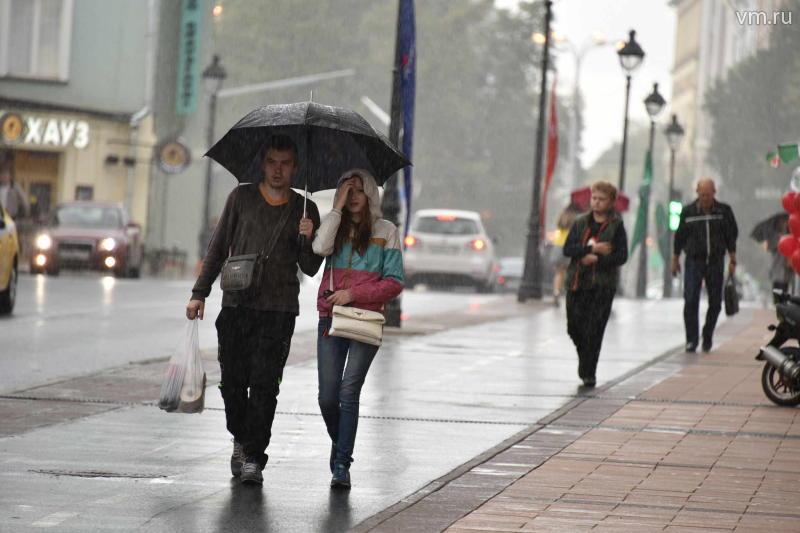 Дождливая и ветреная погода ожидается в столичном регионе на этой неделе