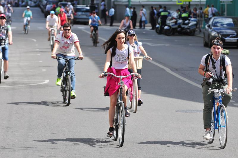 Велосипедные дорожки появятся у комплекса «Гудзон»