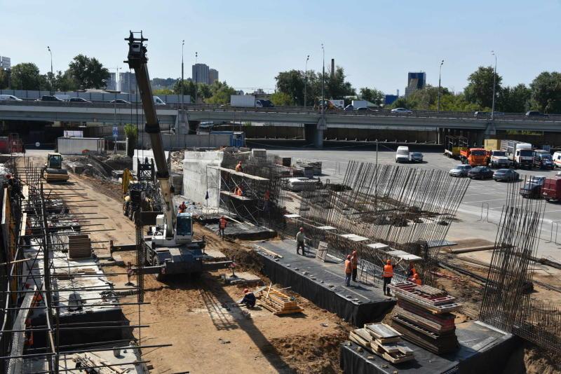 Кожуховский проезд реконструируют для подъезда к транспортному узлу