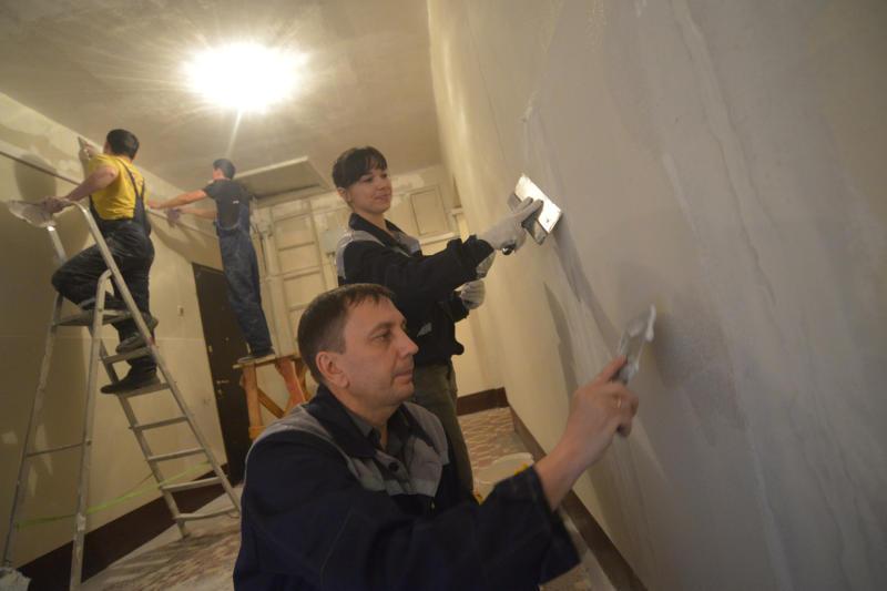 В районе Бирюлево Западное провели ремонт в некоторых домах