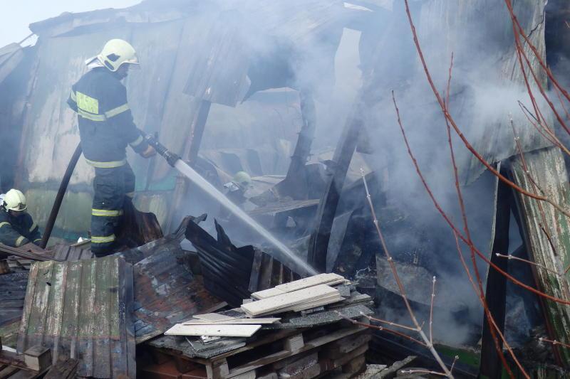 Пожар в Борисовском проезде ликвидирован