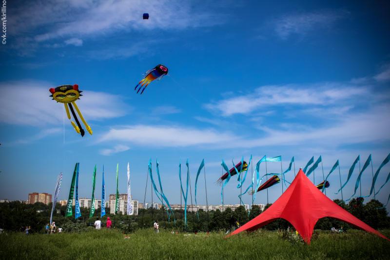 Змеи в воздухе: на выходных пройдет фестиваль «Пестрое небо»
