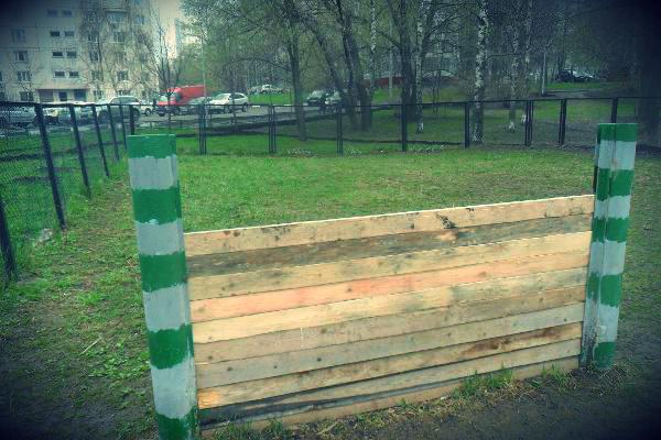 Площадки для выгула собак отремонтировали в Чертаново Центральное