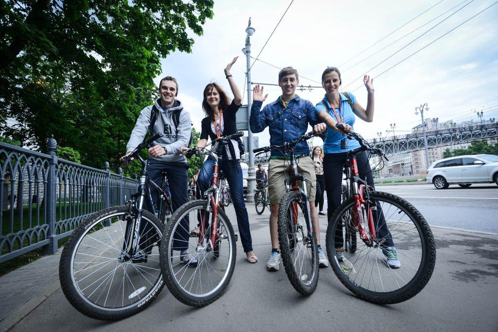 Любители велопроката в Парке Горького получат бесплатные поездки