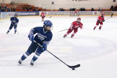 Юные спортсмены из Чертаново заняли первое место в хоккейном турнире