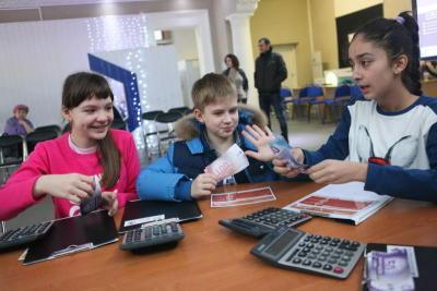 Математическая игротека прошла для школьников Даниловского района
