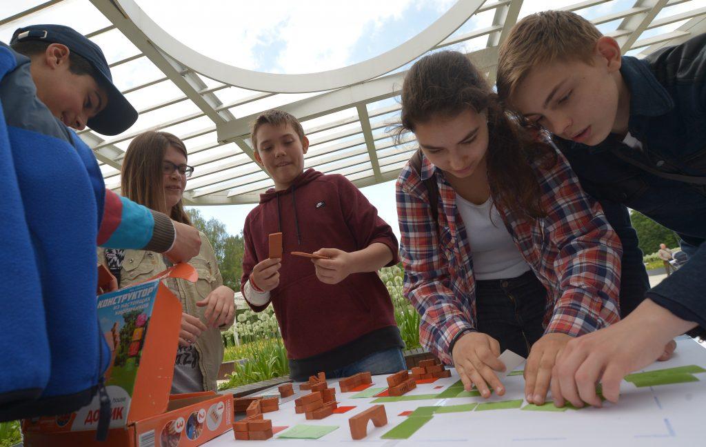 Квесты для юных москвичей провели в Библиотеке имени Симонова