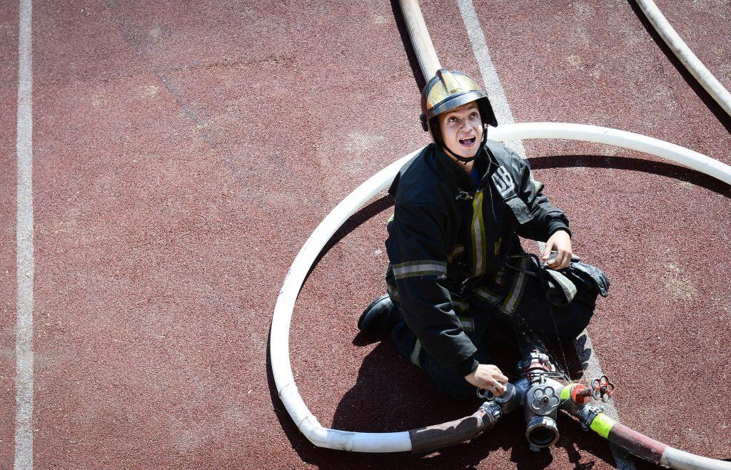 При пожаре в Коломенском никто не пострадал